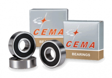 Cema 24x37x7 stainless steel bearing
