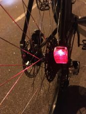 Herrmans H-Trace Mini Dynamo rear light