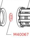 Mavic Internal Freehub Spacer