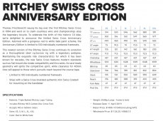 Ritchey Swiss Cross Disc V2 runkosetti
