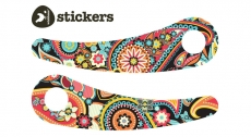 Wishbone Paisley Stickers